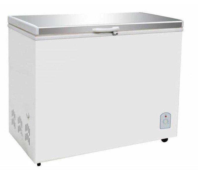 Combisteel Gefrierschrank mit Edelstahldeckel   260 Liter   130W   1055x575 / 630x845 (h) mm