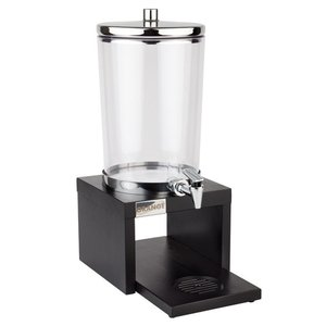 APS Sapdispenser APS Zwart | 4 Liter | 1 Koeler | 310x200x420(h)mm