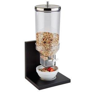 "APS Cereal Dispenser ""Bridge"" | 4.5 Liter | black | 210x200x555 (h) mm"