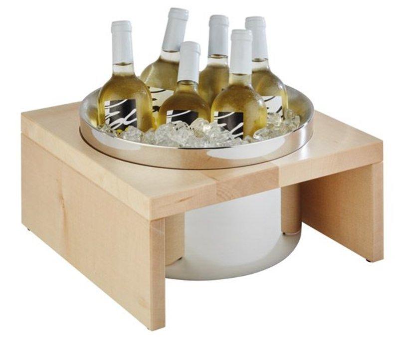 "APS Wine Cooler ""Bridge"" | Natural | 350x350x190 (h) mm"