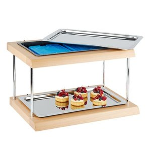 "APS Refrigerated Display Case Buffet APS | ""Double Decker"" 