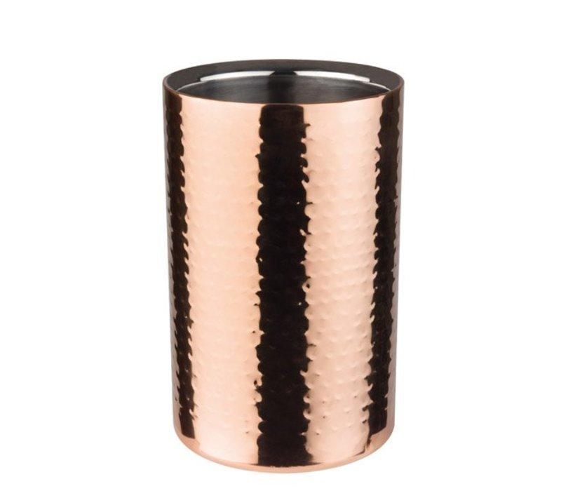 APS Wijnkoeler Koperkleurig | Dubbelwandig | Cupper | Ø120x200(h)mm
