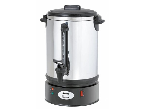 Bartscher Percolator Professional | Ø220x (H) 415mm | 48 Cups | 6,8 Liter