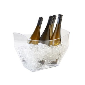 APS Wijn/Champagnekoeler APS | Transparant | 7 Liter | 320x215x247(h)mm