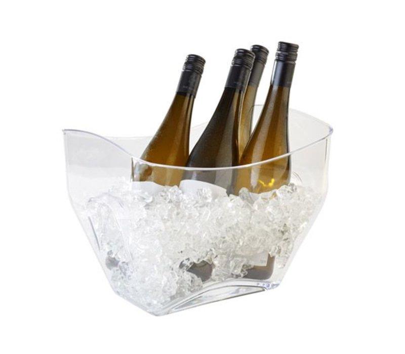 APS Wein / Champagner-Kühler APS | transparent | 7 Liter | 320x215x247 (h) mm