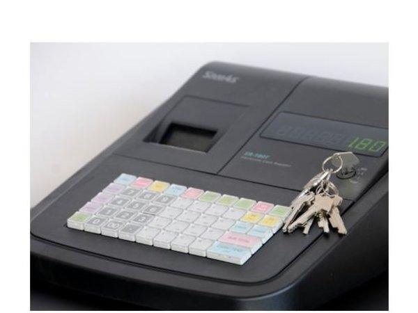 Sam4s Kassasysteem Traditioneel   Sam4s ER-180U   Thermische Printer   Numeriek Display   16 Groepen