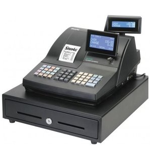 Sam4s Traditional POS system | SAM4S NR-500RB | Single Station Printer | LCD Display | increased Keyboard