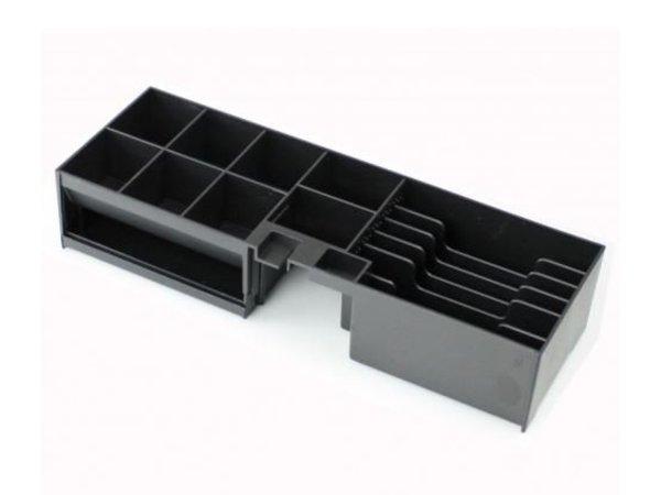 XXLselect Kassalade Fliptop Zwart | Manueel | 8 Munt/ 5 Biljet | 460(b)x170(d)x100(h)mm