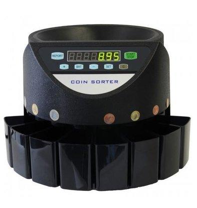 XXLselect Münzzähler CS-270 | Zählt 270 Münzen / Minute | mittlere Unternehmen