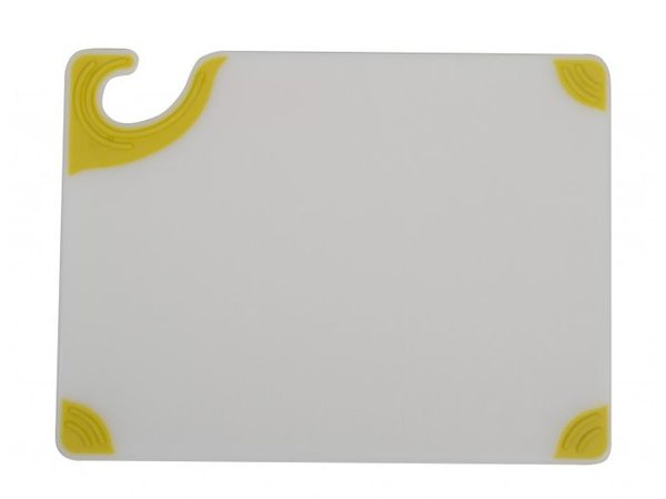 San Jamar Snijplank San Jamar - 23x30cm - Saf-T-Grip - Witte plank - Gekleurde hoeken