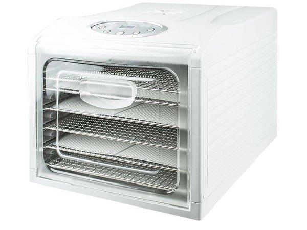 Saro Voedsel Droogoven VeggyDry | 6 Roosters | Tijdklok | LED Display