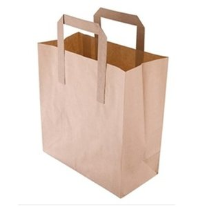 XXLselect Brown Paper Bag   Greaseproof Kraft   in 3 Sizes Available