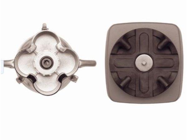 Waring Commercial Blender Waring - HEAVY DUTY - CB15V - 4 Liter - Variabele Snelheid - 1500W