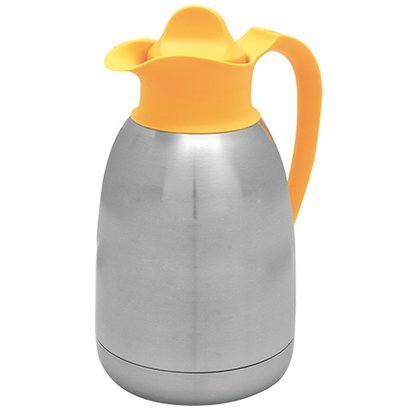 XXLselect Thermos - Stainless steel - screw - 1.5 liters - yellow