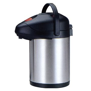 XXLselect With pump Stainless Steel - Double-skinned - Swivel Foot - 2.5 Liter