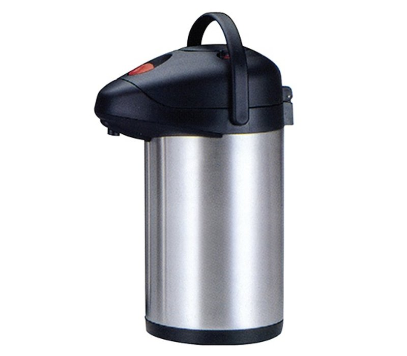 XXLselect With pump - stainless steel - double - 4 liters - Best Seller