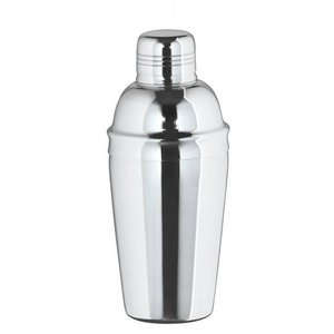XXLselect Cocktail Shaker three-piece glossy 0.5 Liter