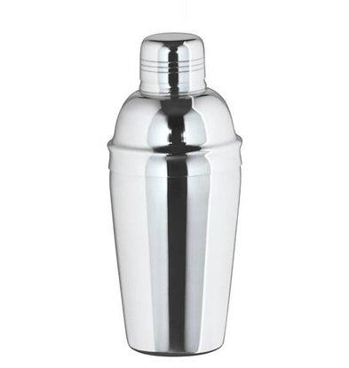 Bar Professional Cocktail Shaker dreiteilige Hochglanz 0.5 Liter