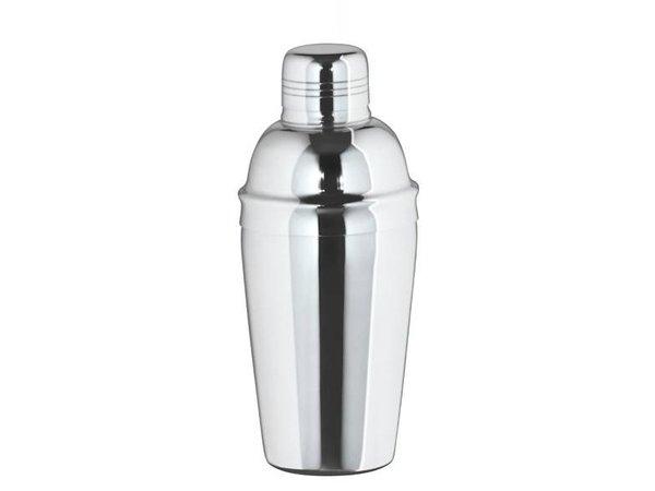 XXLselect Cocktail Shaker three-piece glossy 0.5 Liter