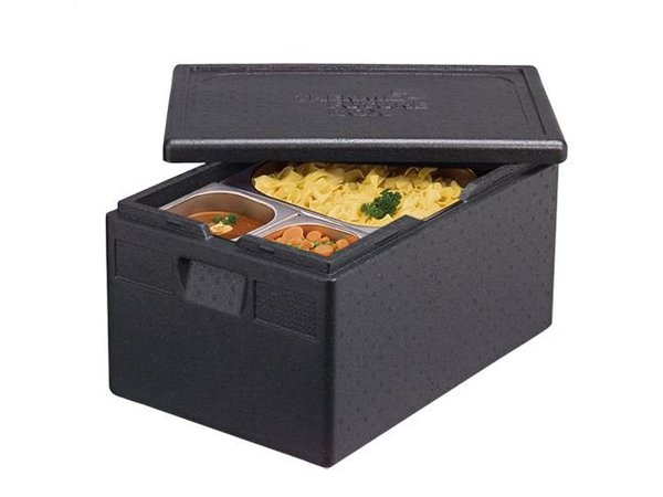 XXLselect Thermo Cateringbox - GN1 / 1 | 320mm - Thermo Zukunft Box - stapelbare