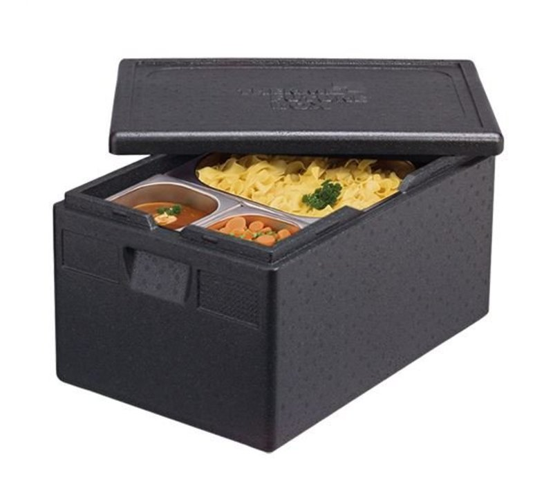 XXLselect Thermo Cateringbox - GN1 / 2 | 250mm - Thermo Zukunft Box - stapelbare