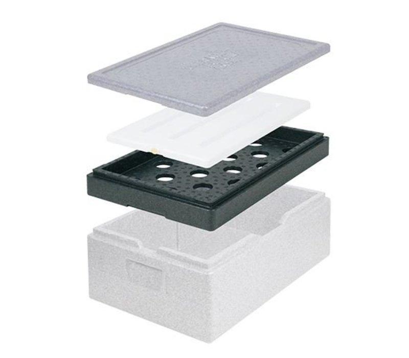 XXLselect Kühlaggregat Struktur GN1 / 2   Thermo Zukunft Box   390x330x60 (h) mm