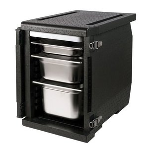 XXLselect Thermo Frontloader 4x GN1/1   55 Liter   530x325x350(h)mm