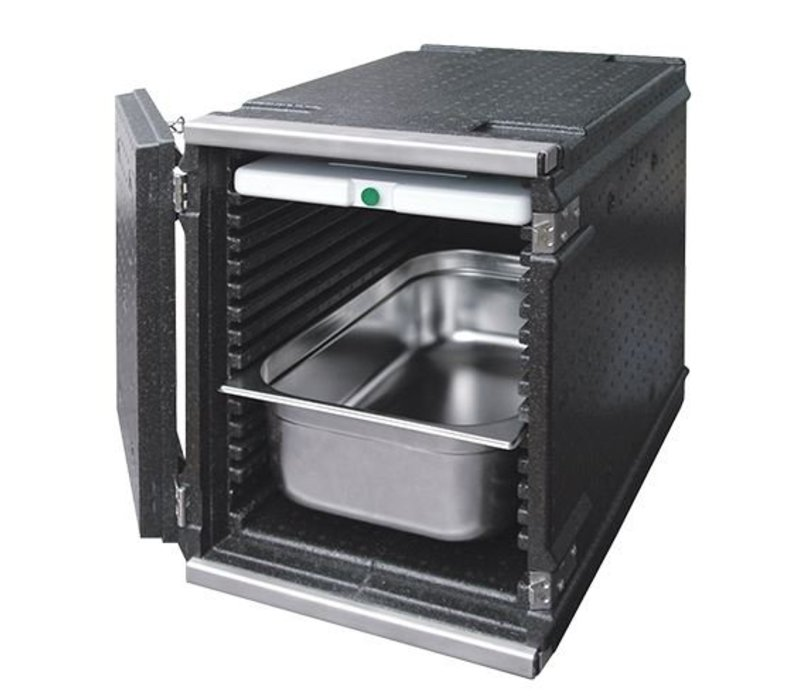 XXLselect Thermo Frontlader 8x GN1 / 1 | 100 Liter | 530x325x545 (h) mm
