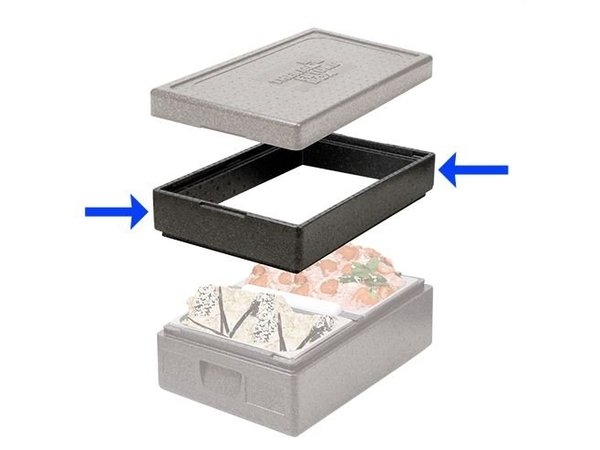 XXLselect Edge design 600x400x90 (h) mm | Thermo Future Box