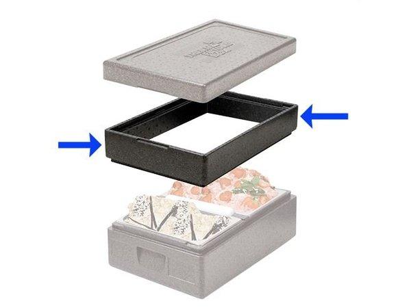 XXLselect Edge-Design 600x400x90 (h) mm | Thermo Zukunft Box