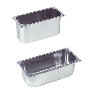 XXLselect Ice-uitschepbak Inox | 8 Liter | 360x250x120 (h) mm