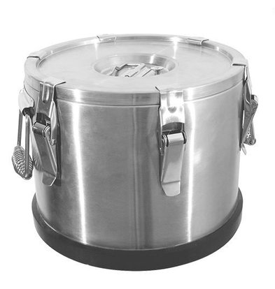 XXLselect Gamel Inox | Doppelwandig | 10 Liter | Ø300x250 (h) mm