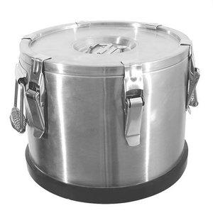 XXLselect Gamel Inox | Dubbelwandig | 25 Liter | Ø380x320(h)mm