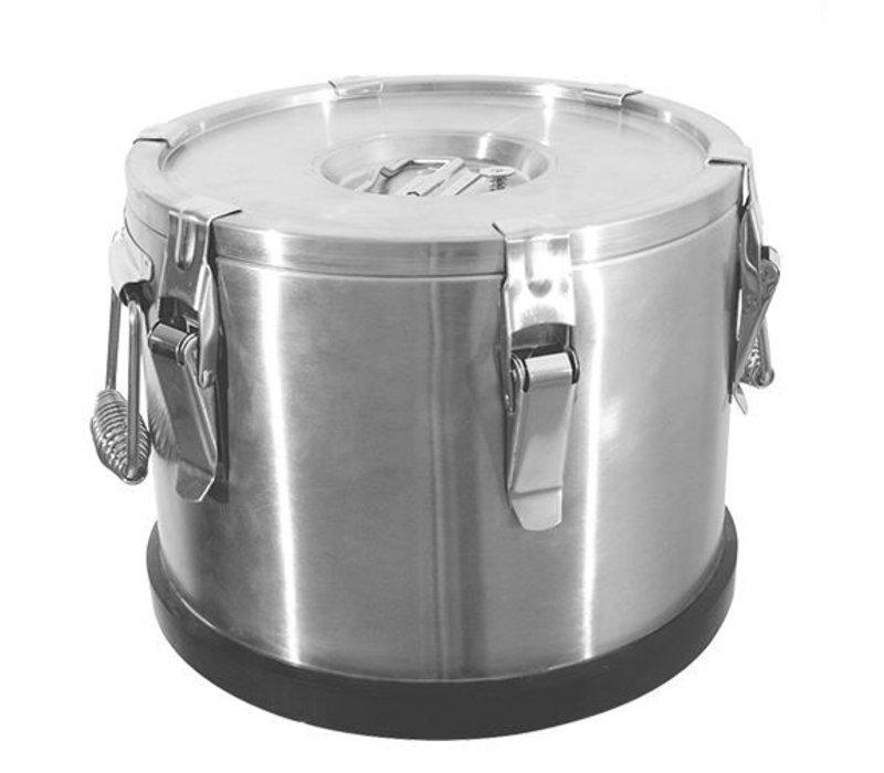 XXLselect Gamel Inox | Double walled | 35 Liter | Ø430x350 (h) mm
