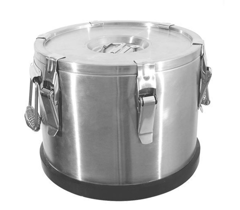 XXLselect Gamel Inox   Dubbelwandig   35 Liter   Ø430x350(h)mm