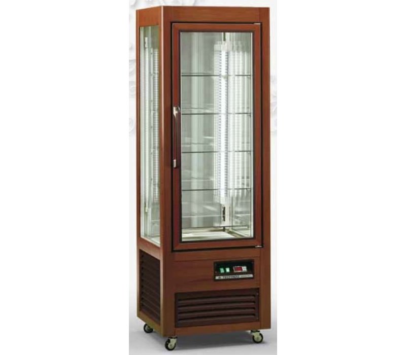 Diamond Refrigerated display - 350 liters - 5 levels - 60x61x (h) 185cm