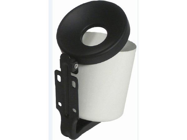 XXLselect Round Wall ashtray | 0.5 Liter | Up to 150 butts | Available in two colors