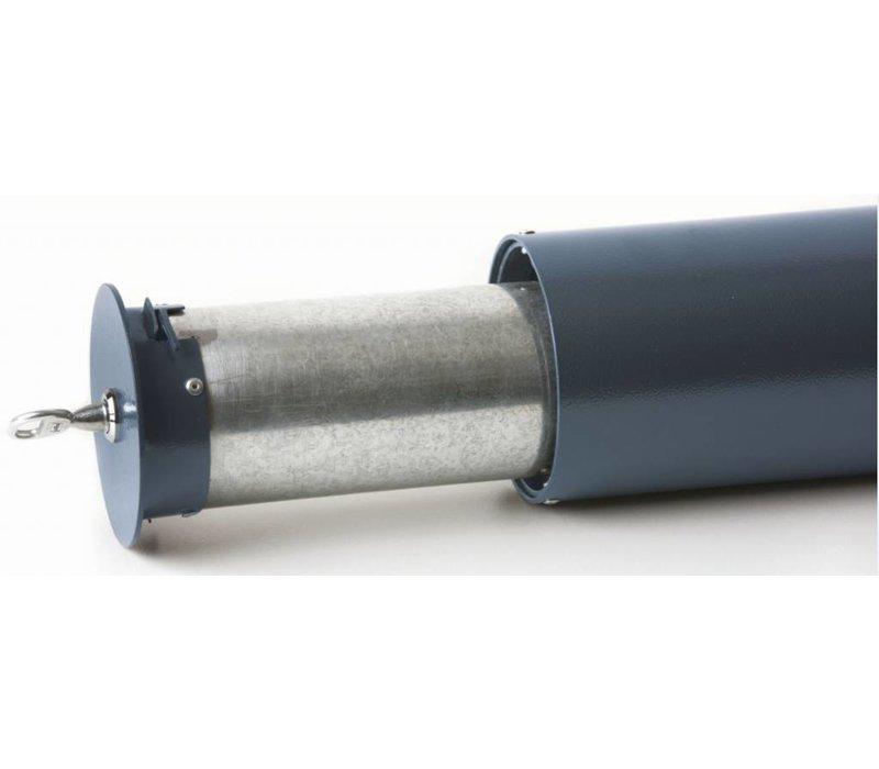 XXLselect Tubulaire Wandasbak | 1 Liter | Buitengebruik | Tot 300 Peuken |100x100x(H)500mm