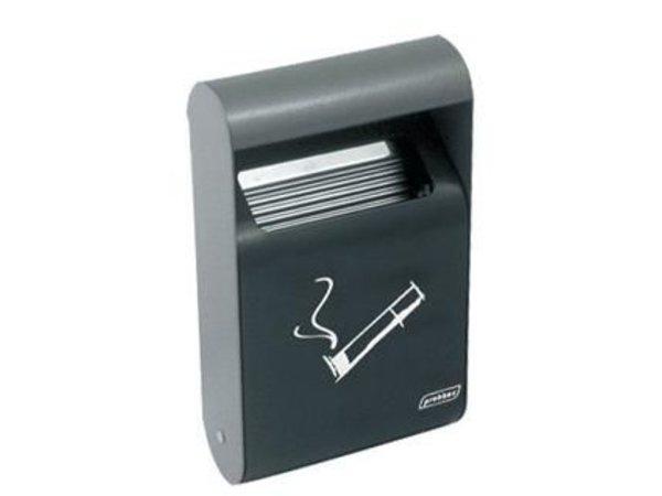 XXLselect Rectangular Wall ashtray | 0.5 Liter | Up to 150 butts | 152x64x255mm