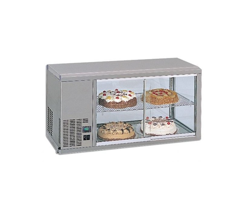 Gamko DESIGN: Refrigerated display case | Gamko AV / MS111SF | Machine Links | Sliding Glass / Windows Flip | 1110x510x550 / 565mm