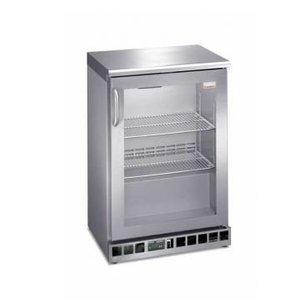 Gamko Glass Freezer 80 Gläser | Gamko MF / 110RGCS | Glastür im Uhrzeigersinn | 602x516x905mm