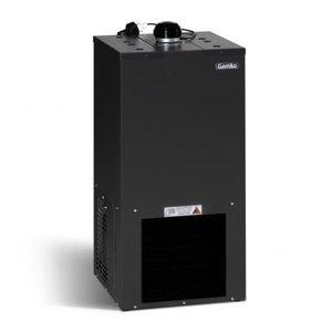 Gamko Bierkühler Schwarz | Gamko BKG50 / 54 | Stehend Modell | 400x400x890mm