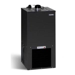 Gamko Bierkühler Schwarz | Gamko BKG50 / 87 | Stehend Modell | 500x500x870mm