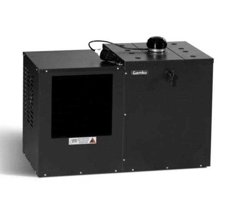 Gamko Bierkühler Schwarz | Gamko BKG50 / 87L | Liegen Modell | 880x500x585mm