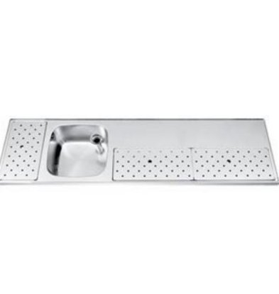 Gamko Stainless steel bar top Sink + Links | Gamko ST BB180L | Around Motif | 500x1800mm | STAR-Line