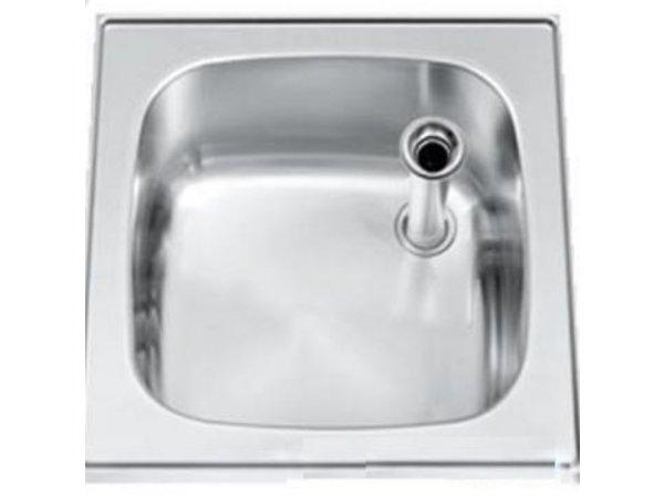 Gamko Buffet Journal RVS + Sink | Gamko ST SB50 | Rund Motiv | 500x500mm | STAR-Line