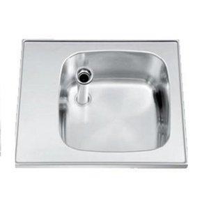 Gamko Buffet Journal RVS + Sink | Gamko ST SB60 | Rund Motiv | 500x600mm | STAR-Line