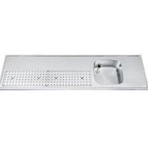 Gamko Buffet Journal RVS + Sink Right | Gamko PR BB200RUM | Around Motif | 550x2000mm | PROFI-Line
