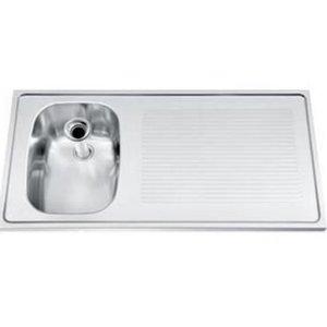 Gamko Buffet Journal stainless steel sink + Links | Gamko CO SB100L | Cross Motif | 500x1000mm | DRESSER