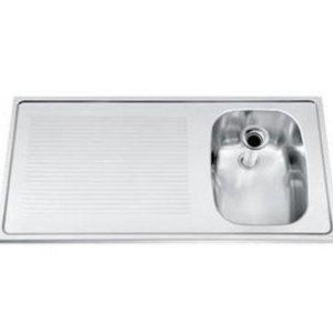 Gamko Buffet Journal RVS + Sink Right | Gamko CO SB100R | Cross Motif | 500x1000mm | DRESSER